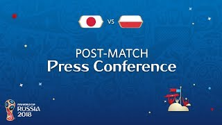 fifa world cup 2018 japan v poland - post-match press conference