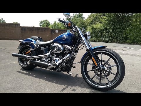 2015 Harley Davidson Softail Breakout Review - Fast road test