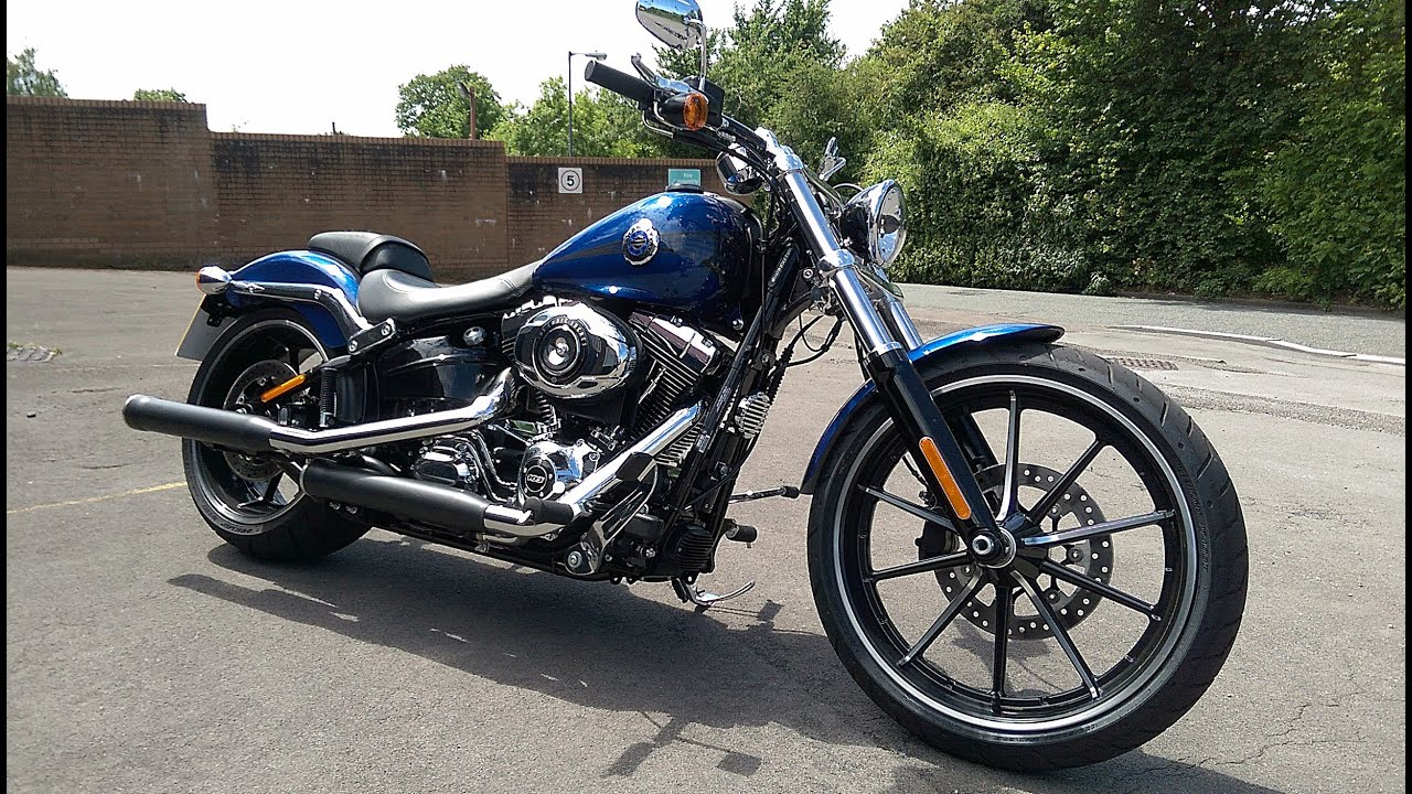 2015 harley davidson softail breakout review fast road test youtube kristyandbryce Gallery