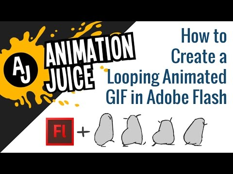 How to Create a Looping Animated GIF in Adobe Flash