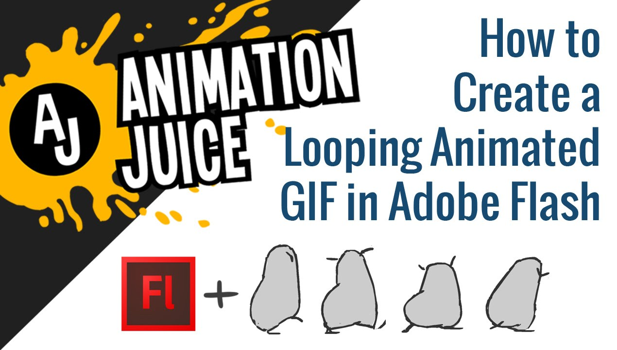 How To Create A Looping Animated Gif In Adobe Flash Animation Juice