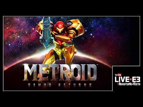 METROID: Samus Returns! Live Gameplay Demo & Details - YouTube Live at E3