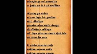 Marcelo feat. Nevena - Pismo bratu (tekst)