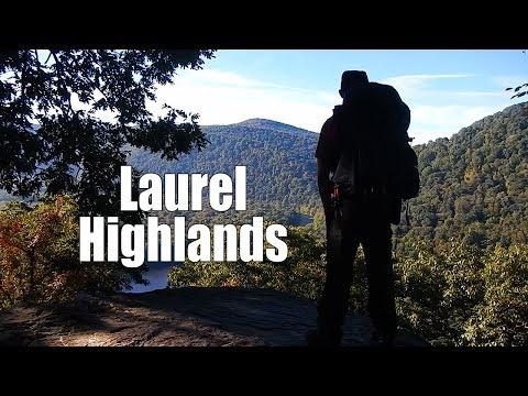 Thru hiking the Laurel Highlands Hiking Trail - 6 days 70 miles