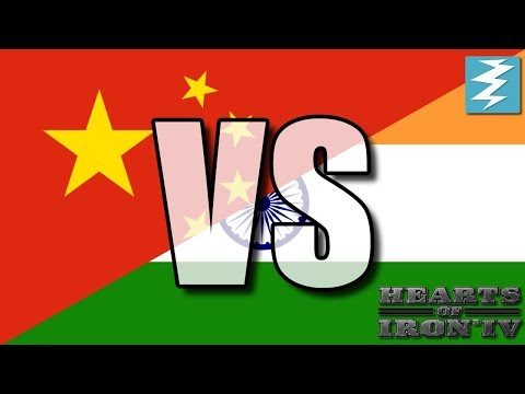 China Vs India Ep14 - Hearts of Iron 4 (HOI4)