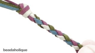 How to Make a Four Strand Round Braid