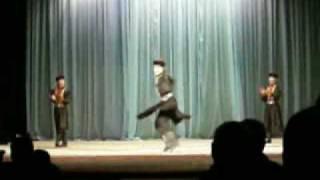 Oirat-Kalmyk dance. Ишкмдг