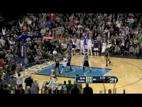 San Antonio Spurs vs. Dallas Mavericks 2008/12/9