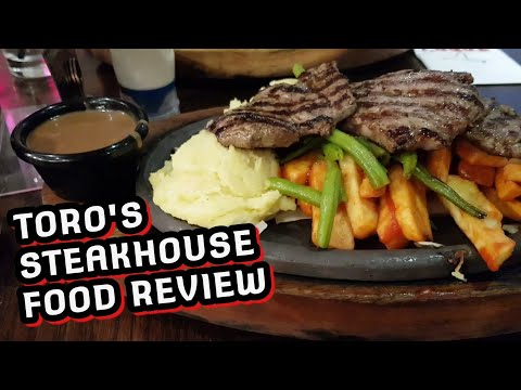 Toro's Steakhouse Food Review