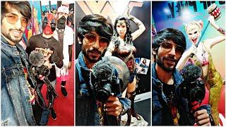 Comic con 2020 Ahmedabad | Superfan 4K Cinematic | Abish mathew and Sapan verma.