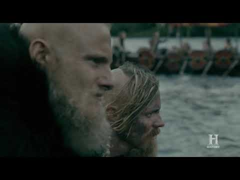 Vikings S05E06 - Bjorn returns to Kattegat + Bishop tells if he accepts the offer (last scene)