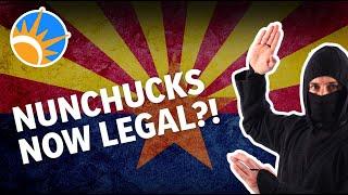 Arizona Removes Ban on Nunchucks