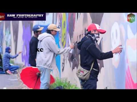 grafity di kota kudus YOUTH LINE 3- airbrushed graffiti