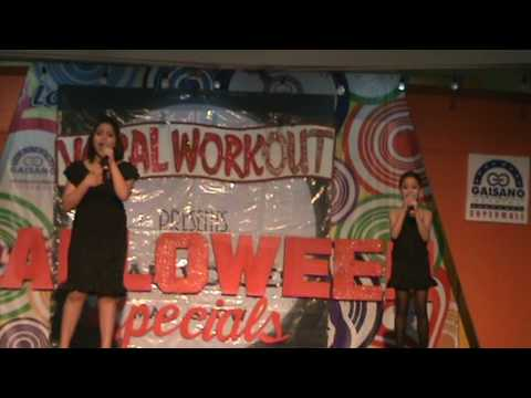 Vocal Workout-Mall Show (Patricia and Nicole)