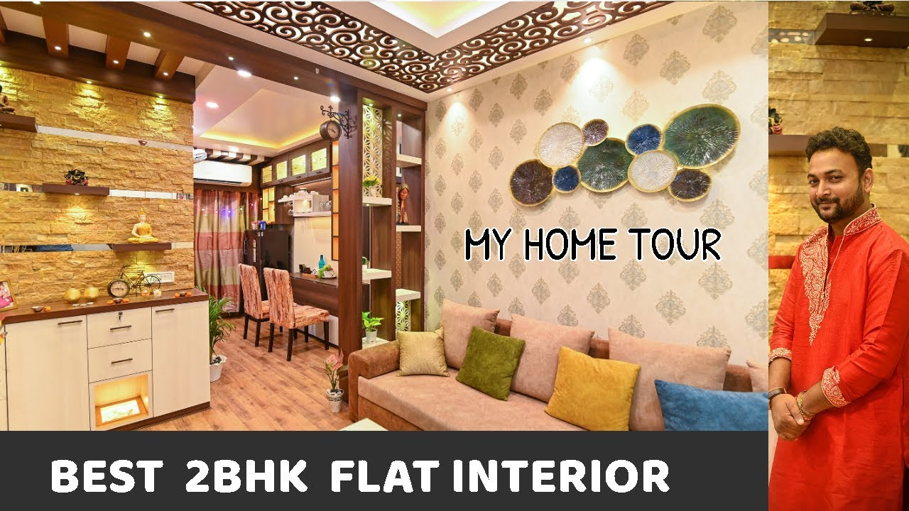 My Home Tour Video 2020 | Best 2BHK Interior Design Video 2020 | @Interior Jagat