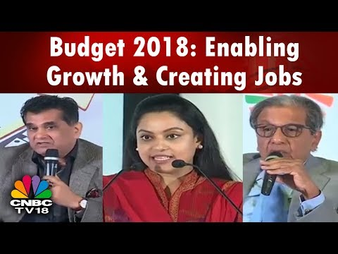 #Budget2018 : Enabling Growth & Creating Jobs | Yes Bank Annual Economic Conclave | CNBC TV18