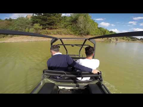 Göle Girdik Hem Karada Hem Suda Gidebilen Araç ARGO