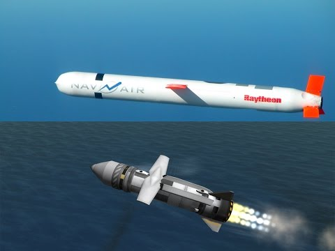 Realistically-ish Cruise missile in KSP with mobile launcher