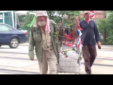 Two Homeless Guys in Cleveland's Flats.