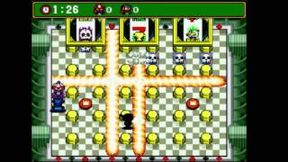 Super Bomberman 4 (english translation) - Vizzed.com GamePlay (rom hack) - Tournament Week 5 - User video