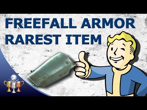 Fallout 4 Freefall Armor Legs - Best & Rarest Unique Item in Fallout 4 (Impossible Jetpack Location)
