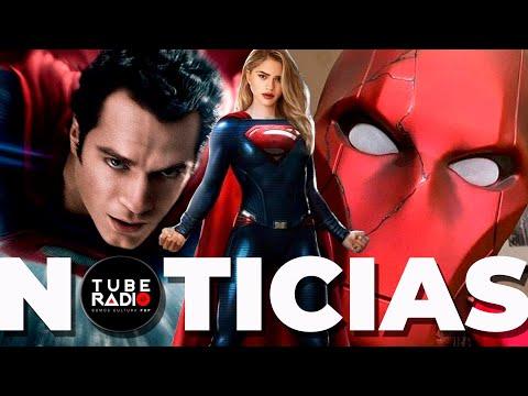 "Henry Cavill: ""lucha por Superman"" Supergirl volando en The Flash, Reed Hood llega a Titans 3"