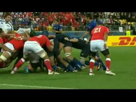 RWC 2011 - Final 5 Minutes Of Tonga Vs France