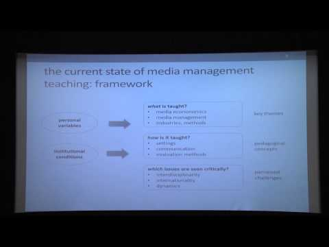Media Management education: challenges, key themes and pedagogies