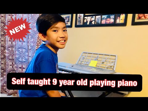 9 Year Old Self Taught Pianist In The Making!