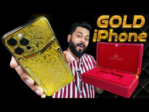 Unboxing The Rs. 30,00,000 Gold iPhone 12 Pro ⚡ This Is Crazy