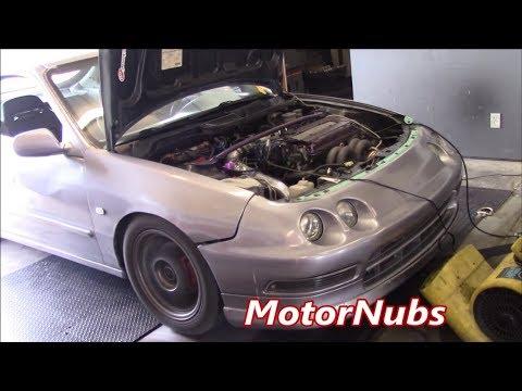 GSR Turbo Integra stock block Dyno