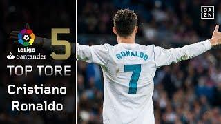 Top 5: Ronaldos schönste Tore der Saison 17/18 | Highlights | LaLiga | DAZN Top 5 Tore