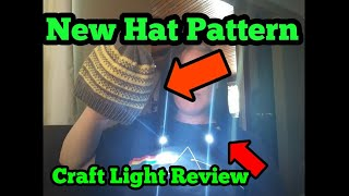 eSunlight Craft Light Review & New Hat Pattern Available