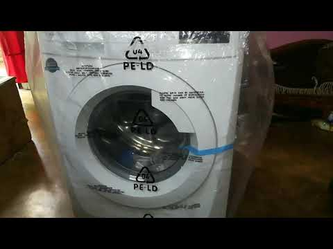 Unboxing Electrolux front load washing machine