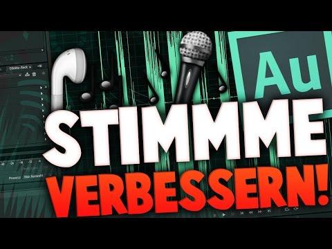 ADOBE AUDITION STIMME VERBESSERN! ♦ TUTORIAL [GERMAN]