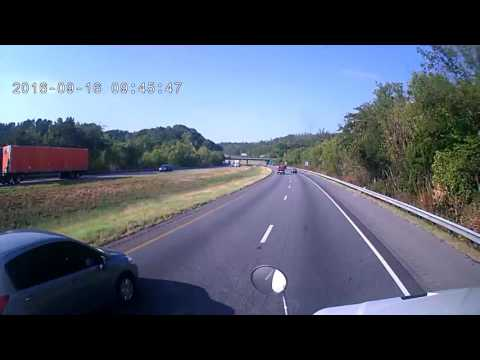 I-24W at the Tennessee Georgia line 09/16/16 Frontview