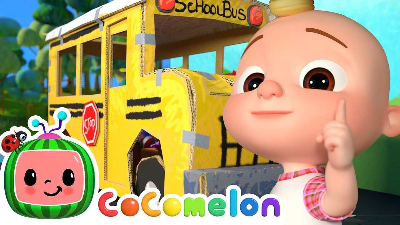 Wheels on the Bus! | @Cocomelon - Nursery Rhymes | Moonbug Kids | Cocomelon Kids Songs