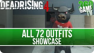 Dead Rising 4 All Outfits Showcase