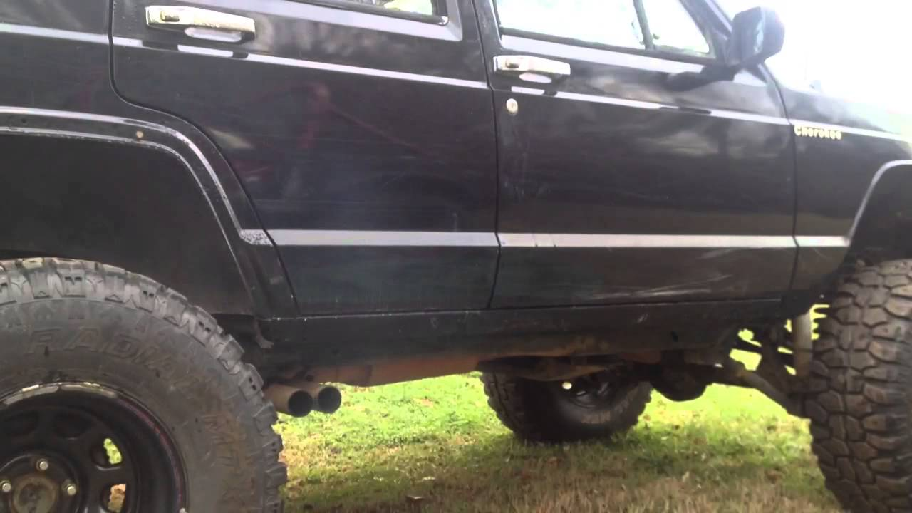 Jeep Grand Cherokee 0 60 >> 1988 Jeep Cherokee Flowmaster Exhaust - YouTube