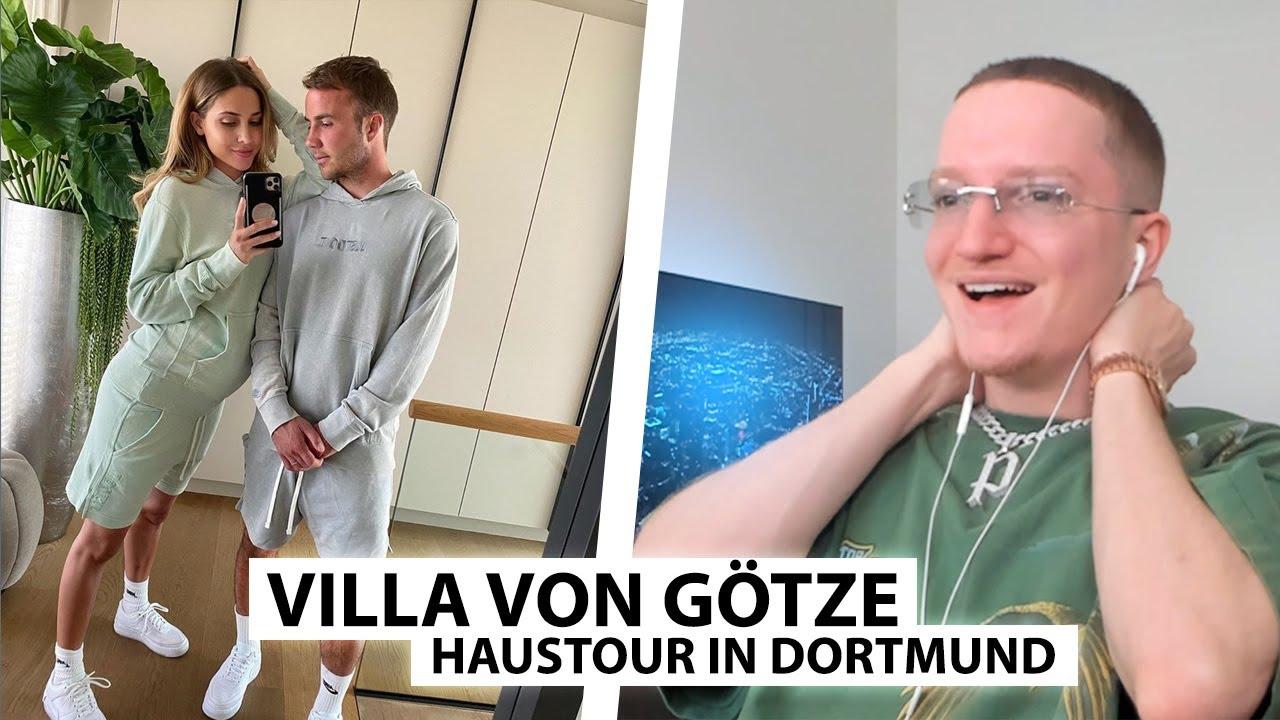 Justin Reagiert Auf Haustour Bei Mario Gotze In Dortmund Youtube