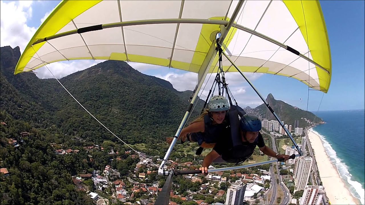 Voo de Asa Delta Rio de Janeiro   S2 RIO