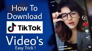 How To Download TikTok Video in any Android phone