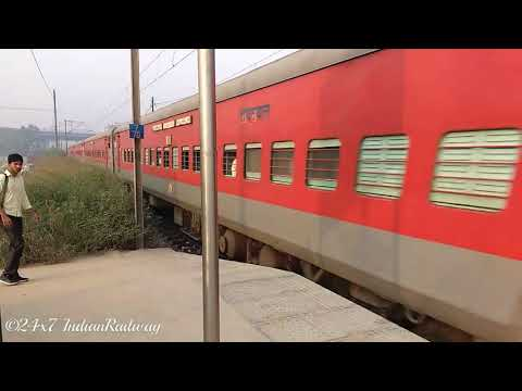 लखनऊ मेल - Lucknow Mail with LHB Coach | LKO/Lucknow Charbagh NR - NDLS/New Delhi