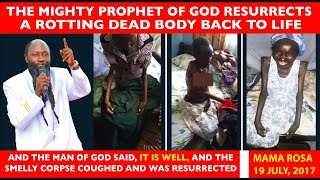 HISTORIC RESURRECTION OF A DEAD DECOMPOSING CORPSE DOCUMENTARY - PROPHET DR OWUOR