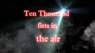 Disturbed - Ten thousand fists Lyrics [HD]