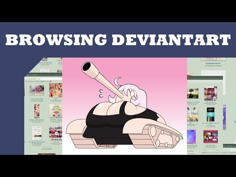 Browsing Deviantart: Transformation Art and More - YouTube