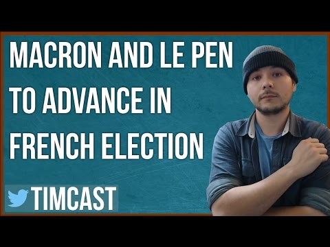 MARINE LE PEN AND EMMANUEL MACRON WIN IN FRENCH ELECTION