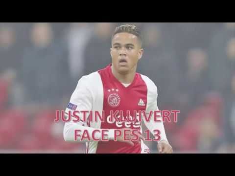 JUSTIN KLUIVERT FACE