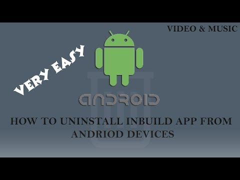 How To Uninstall Inbuilt Apps In Android