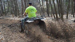 ATV Accident   Logging Road Food Plots   Whitetail Live Stream #17